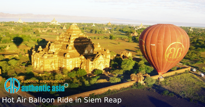 Hot Air Balloon Ride in Siem Reap