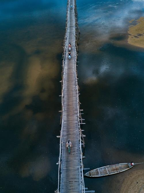 Ong Cop Bridge from above